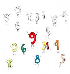 Happy numbers vector