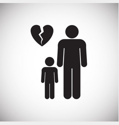 one parenting on white background vector image