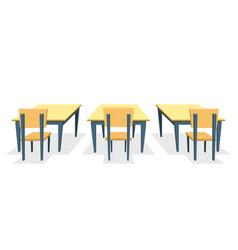 School desk vector