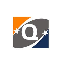 Success solution letter q vector
