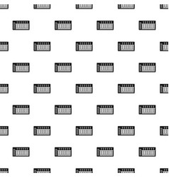 electronic synth pattern vector image vector image