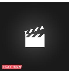 movie film icon vector image vector image