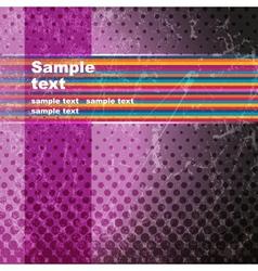 Multicolor Grunge background vector image