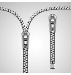 zipper vector image vector image