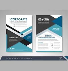 Business flyer cover design vector