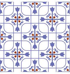 colorful tile design vector image