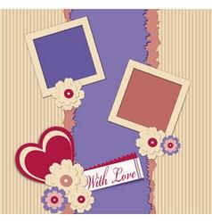 congratulation background vector image vector image
