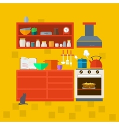 Cooking tools and kitchenware vector