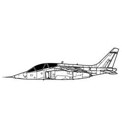 Dassault-dornier alpha jet vector