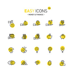 Easy icons 11d money vector