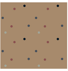 funny little dots seamless pattern vector image