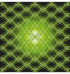 Green background grid vector