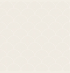 Pattern seamless circles vector