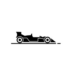 Racing car icon vector