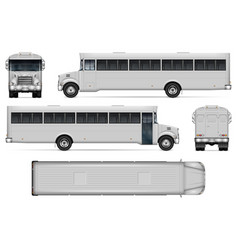 Realistic correction bus vector