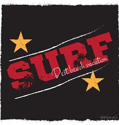 Surf background vector