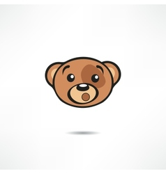 Surprised bear vector image