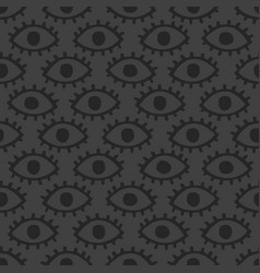 dark eyes background vector image vector image