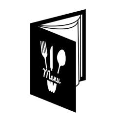 menu resturant food vector image