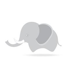 cute male elephant cartoon drawing thailand vector image vector image