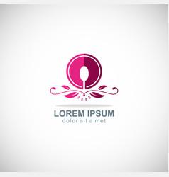 food luxury icon logo vector image vector image