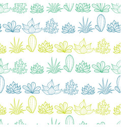 blue green lineart stripes seamless repeat vector image vector image