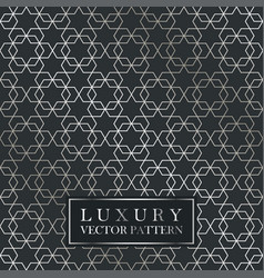 Luxury seamless ornate pattern - grid gradient vector
