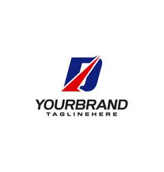Unique logo that forms letter d matches your vector