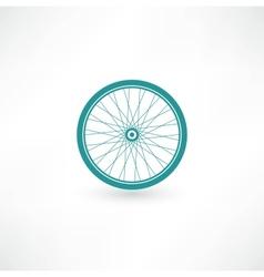 Bicycle Wheel Symbol vector image