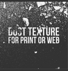 dust texture for print or web vector image