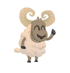 356sheep vector image