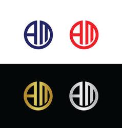 Am logo vector