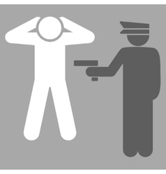Arrest icon vector image
