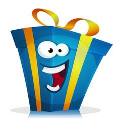 birthday gift character vector image