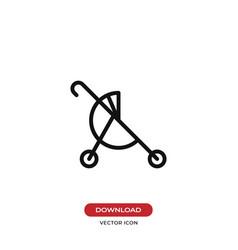 buggy icon vector image
