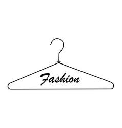 creative fashion logo design vector image