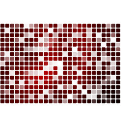 Deep burgundy red occasional opacity mosaic over vector