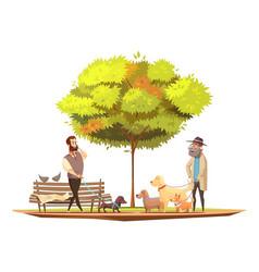 Dog concept vector