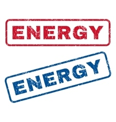 Energy Rubber Stamps vector