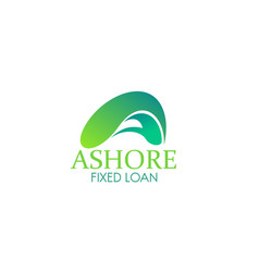 fixed loan sign vector image