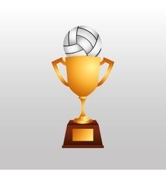Volleyball sport design vector