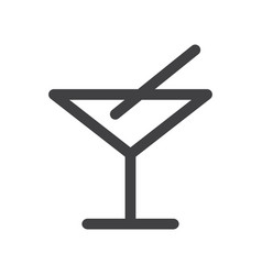 bar icon vector image vector image