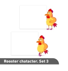 set includes two standing vector image vector image