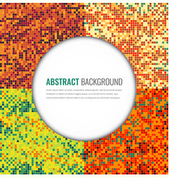abstract pixel backgrounds set party invitation vector image