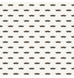 Background with brown mustaches vector