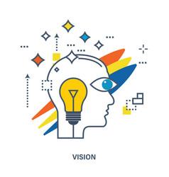 Concept of creative design vector