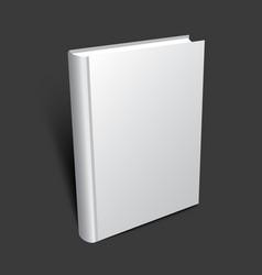Standing 3d book vector