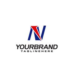 Unique logo that forms letter n matches your vector