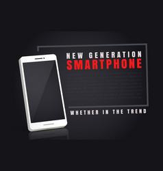 a smartphone vector image