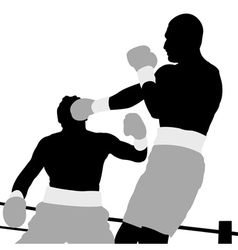 Boxing champion vector